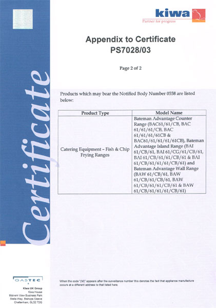 EC Surveillance Certificate Page 2 of 2